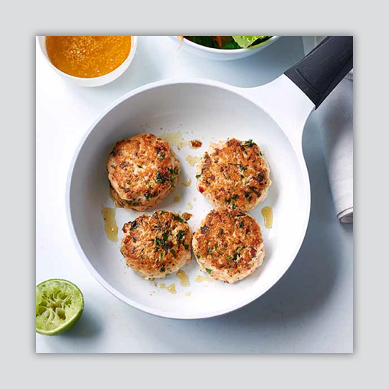 Recipes for Salmon fish cakes